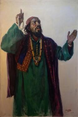 Пакистанский певец Ахтар